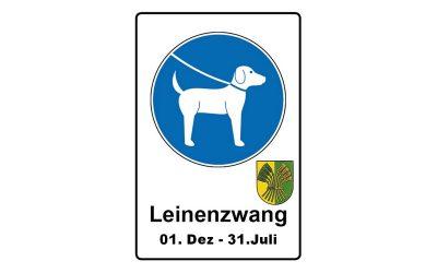 Leinenzwang in der Samtgemeinde Velpke für Hunde