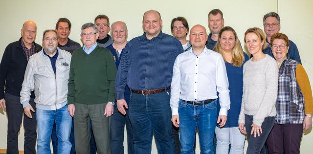 Mitgliederversammlung mit Vorstandswahlen 2019