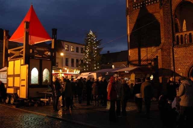 Ankündigung Fahrt zum Weihnachtsmarkt nach Tangermünde
