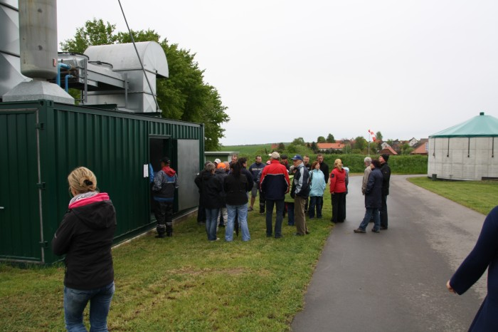 Besichtigung Biogasanlage Rickensdorf