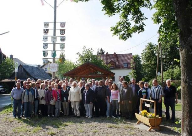Fahrt nach Danndorf in Oberfranken