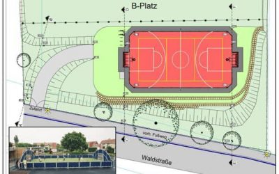 Fun-Court in Danndorf -Ein Platz für viele Sportarten-