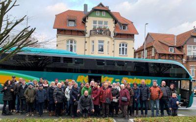 """Fahrt zum Weihnachtsmarkt auf dem """"Landgestüt Celle"""" in 2019"""