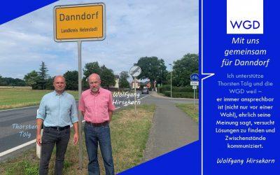 Mit uns für eine effektive Verkehrssicherung in Danndorf